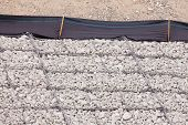 Gravel wire mesh bank revetment erosion control