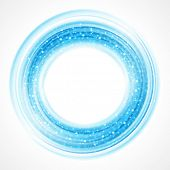 Abstract smooth light circle background. Raster version from vector version.