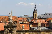 Bamberg, Germany. View From Domplatz.