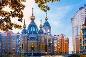 Geburt von Christus-Kirche In Kiew
