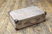 Old abandoned suitcase