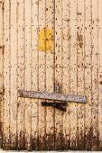 Shuttered Door