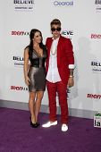 LOS ANGELES - DEC 18:  Pattie Mallette, Justin Bieber at the