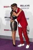 LOS ANGELES - DEC 18:  Pattie Mallette, Justin Bieber at the