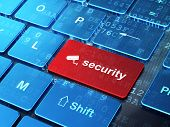 stock photo of security  - Security concept - JPG
