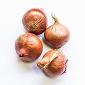 stock photo of red shallot  - Shallots  - JPG