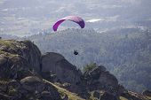 CALDELAS, PORTUGAL - OCTOBER 13: Paragliding Aboua Cup, in the north of Portugal, October 13, 2012,