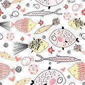 Marine Fish Pattern