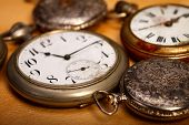 Closeup Pocket Watches