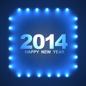 stylish happy new year design background