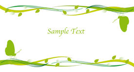 picture of pamphlet  - Go Green Concept for flyer and pamphlet - JPG