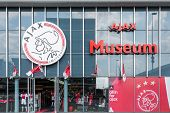 Entrance Museum Of The Dutch Football Club Ajax