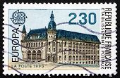 Postage Stamp France 1990 Post Office At Macon