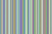 Blue, Brown, Purple, Green Stripes