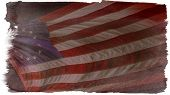 picture of betsy ross  - A vintage Betsy Ross American flag in all its glory - JPG