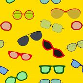 Sunglasses Seamless Pattern