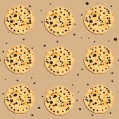 Seamless Cookies Pattern