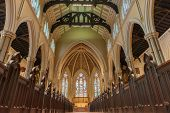 Inside St. James Cathedral In Toronto,canada