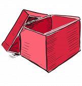 Open store box