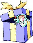 Santa in Present