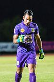 Sisaket Thailand-october 29: Sarawut Konglarp Of Army Utd. In Action During Thai Premier League Betw