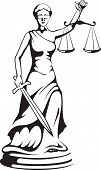 stock photo of judiciary  - Themis  - JPG
