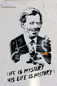 Vaclav Havel Wall Painting