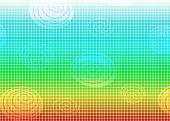 Rainbow Mosaic frame