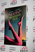 LOS ANGELES - NOV 8:  Inherent Vice Poster at the