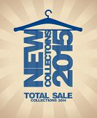 New collections 2015 fashion banner.