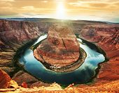 Horse Shoe Bend, Page, Arizona, USA.