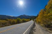 Road To Aspen Colorado In The Autumn