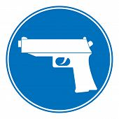 Gun Allowing Sign