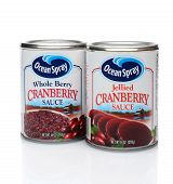 Jellied And Whole Berry Cranberry Sauce