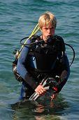 man, diving, sports,