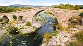 The Ancient Ottoman Bridge Of Assos.