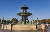 Fountain Des Mers, Concorde Square, Paris, Ile De France, France