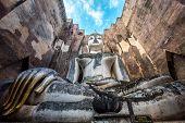Phra Atchana, the big image of Buddha, in Sri Chum temple,