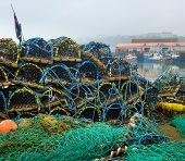 Scarborough lobster pots