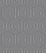 Background consisting of geometrical shapes. Seamless pattern
