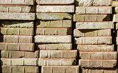 Rough Grunge Brick Wall Background