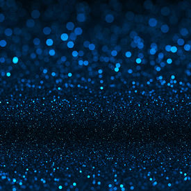 picture of cosmic  - Blue bokeh texture - JPG