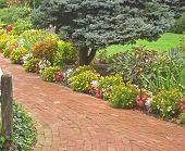 Brick Garden Path 3