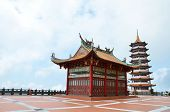 pic of gents  - Chinese temple located in Genting Highland - JPG