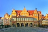 picture of monarch  - Green Gate in Gdansk the formal residence of the Polish monarchs - JPG