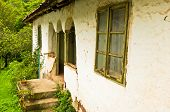 image of serbia  - Very old traditional style house in east Serbia - JPG