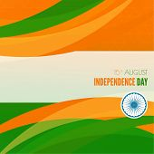 picture of indian independence day  - Abstract background with the symbol of India - JPG