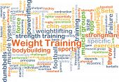 pic of rep  - Background concept wordcloud illustration of weight training - JPG