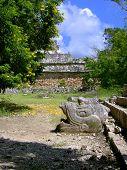 Chichen Itza Statues
