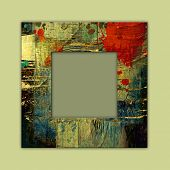art photo frame colorful background. To see similar, please VISIT MY PORTFOLIO.